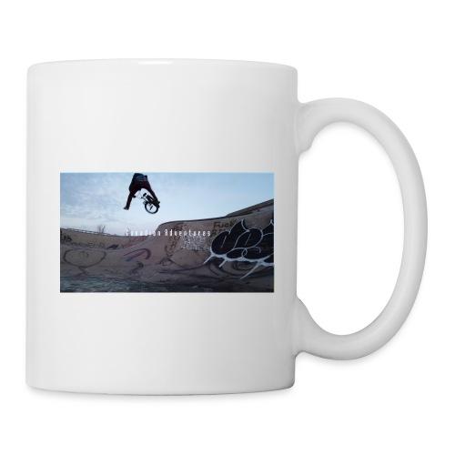 banner tshirt - Coffee/Tea Mug