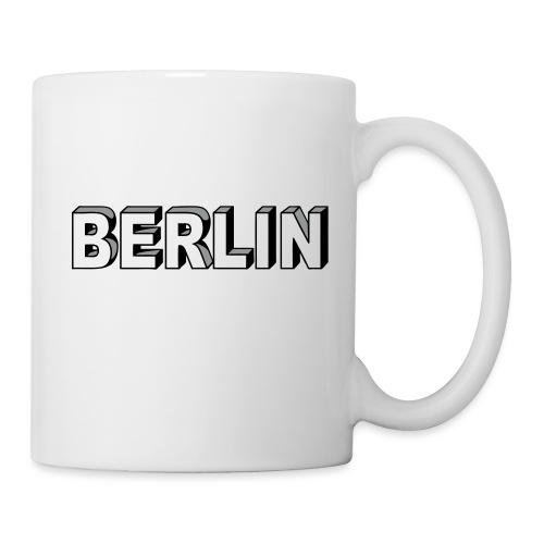BERLIN Block Letters - Coffee/Tea Mug