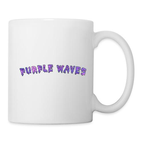 Purple Waves - Coffee/Tea Mug