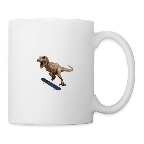 T-Rex Kickflip - Coffee/Tea Mug