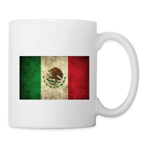 Mexico flag t-shirts etc - Coffee/Tea Mug