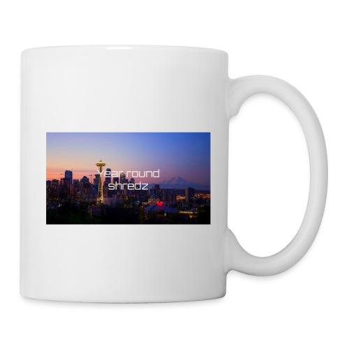 gym hoodie - Coffee/Tea Mug