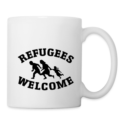 refugees welcome - Coffee/Tea Mug