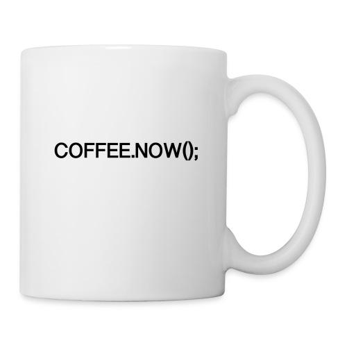 Coffee.now() - Coffee/Tea Mug