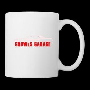 Growls WHITE - Coffee/Tea Mug