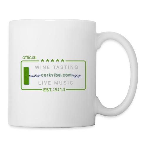 corkvibe t shirt - Coffee/Tea Mug