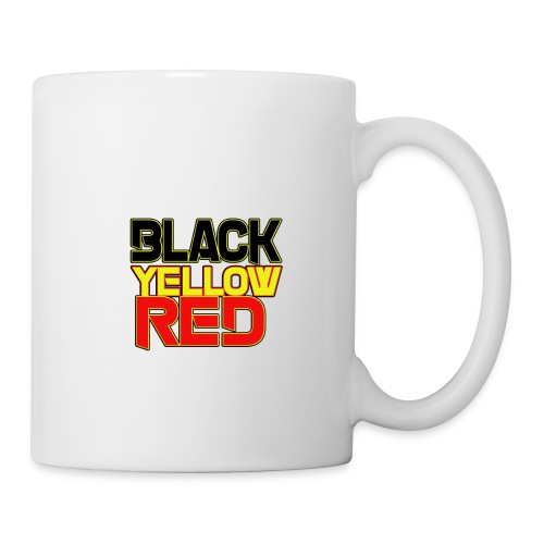 black yellow red - Coffee/Tea Mug