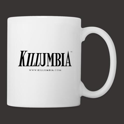 Killumbia Logo White - Coffee/Tea Mug