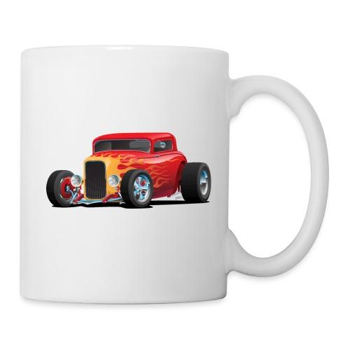 Classic Bold Red Custom Street Rod - Coffee/Tea Mug