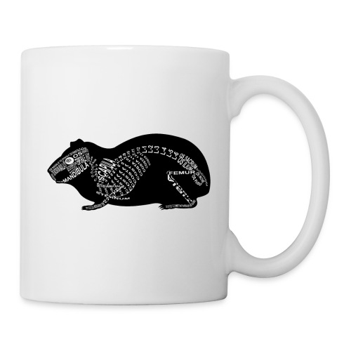 Skeleton Guinea Pig - Coffee/Tea Mug