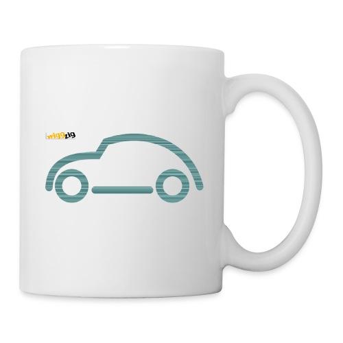 oldimer silhouette green - Coffee/Tea Mug