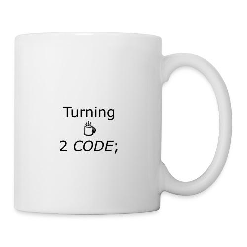 turning coffee to code - Coffee/Tea Mug