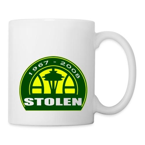 Seattle Supersonics STOLEN Shirt - Coffee/Tea Mug