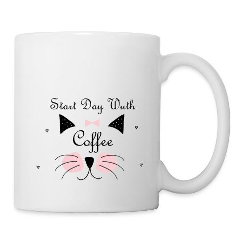 Start Day With Coffee - Coffee/Tea Mug