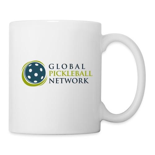 Global Pickleball Network on White - Coffee/Tea Mug