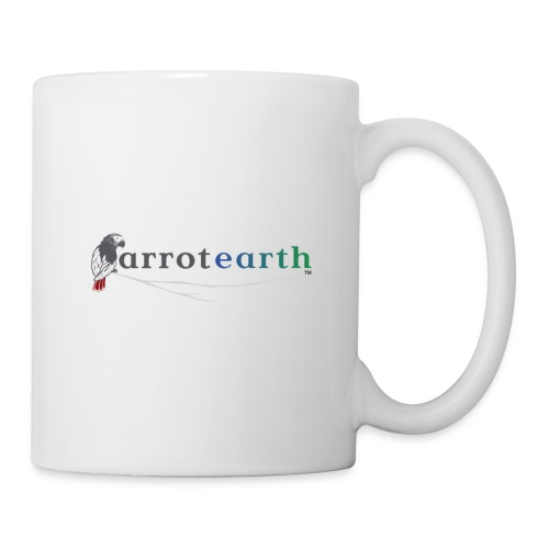 ParrotEarth Logo2TM gradient png - Coffee/Tea Mug