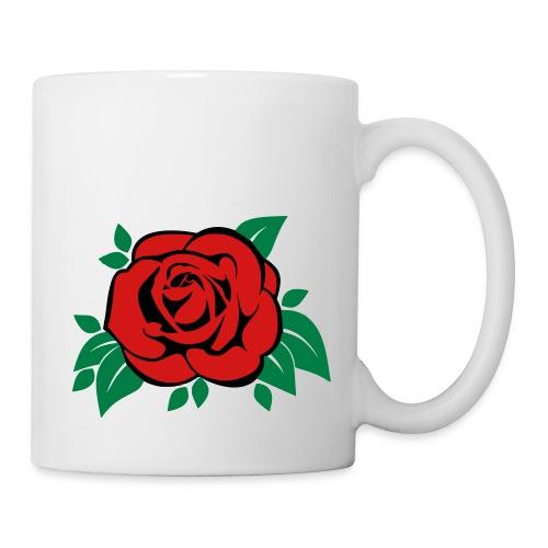 rose_vector - Coffee/Tea Mug