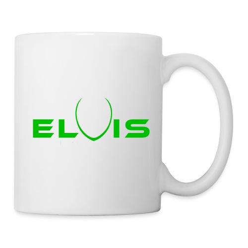 Elvis the Alien (black-logo) - Coffee/Tea Mug