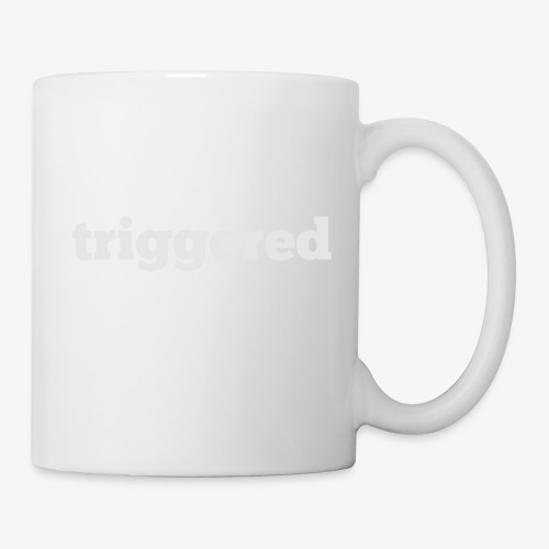 Triggered: Official logo of the Youtube Channel - Coffee/Tea Mug