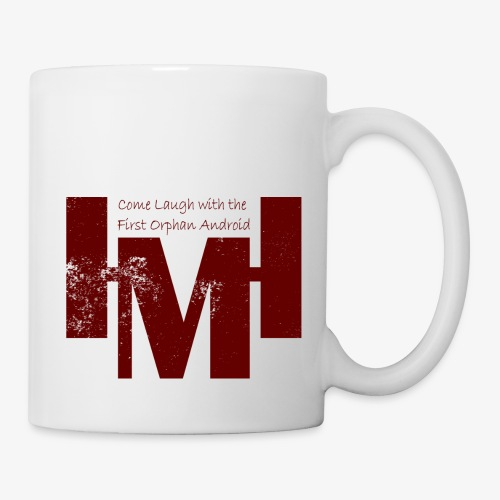 YouTube's Master Human: Grunge Underground Logo - Coffee/Tea Mug