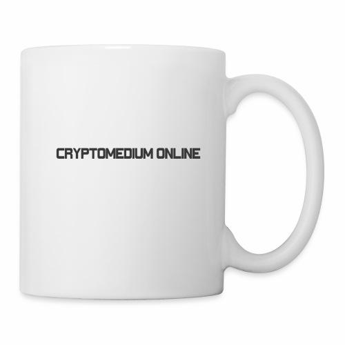 Cryptomedium logo dark - Coffee/Tea Mug