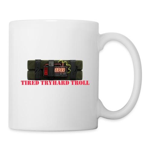 Tired Tryhard Troll + Sticky Bomb - Coffee/Tea Mug