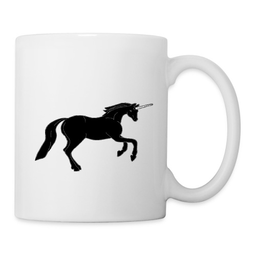 unicorn black - Coffee/Tea Mug
