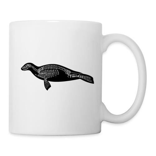 Skeleton Seal - Coffee/Tea Mug