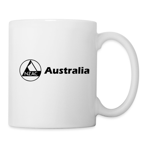 NZAC Australia T Shirt - Coffee/Tea Mug