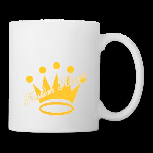 Fashion Kingz Clothing Official Crown Logo - Coffee/Tea Mug