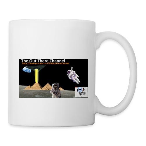 UFO Pyramids2019 New Logo with Back Crew Logo - Coffee/Tea Mug