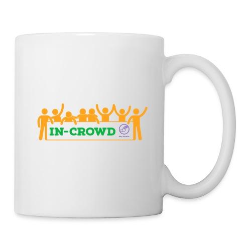 in crowd orange - Coffee/Tea Mug