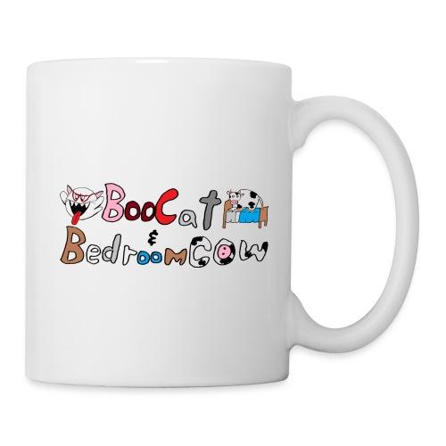 Boo Cat And Bedroom Cow - Coffee/Tea Mug