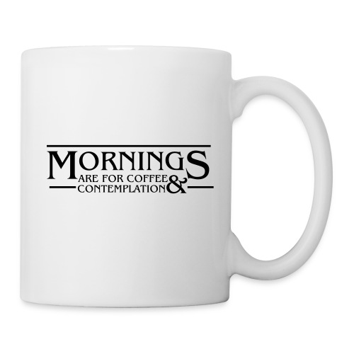 Coffee & Contemplation - Coffee/Tea Mug