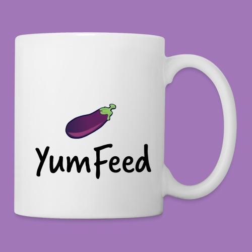 YumFeed logo - Coffee/Tea Mug