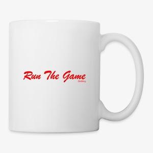Run The Game Original Long Logo Design - Coffee/Tea Mug