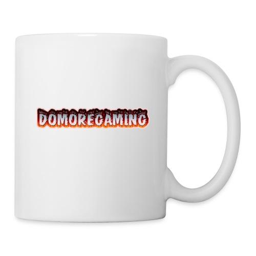 domoregaming on fire - Coffee/Tea Mug