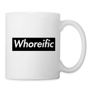 WHOREific label - Coffee/Tea Mug