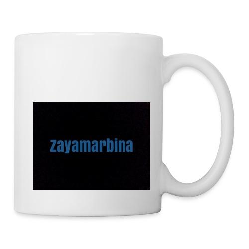Zayamarbina bule and black t-shirt - Coffee/Tea Mug