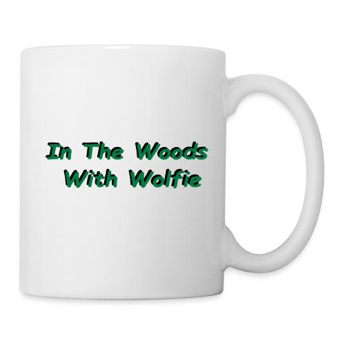 Text Only Logo - Coffee/Tea Mug