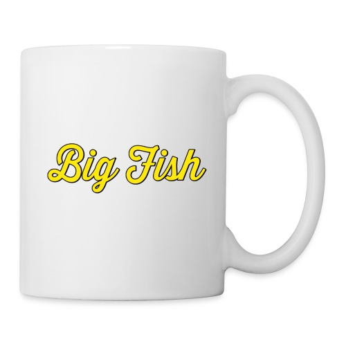 Big Fish Outlined - Coffee/Tea Mug