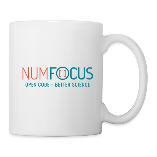 NumFOCUS Official Logo - Coffee/Tea Mug