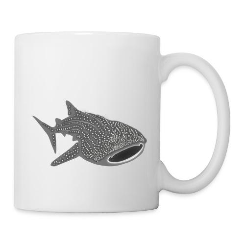 save the whale shark sharks fish dive diver diving - Coffee/Tea Mug