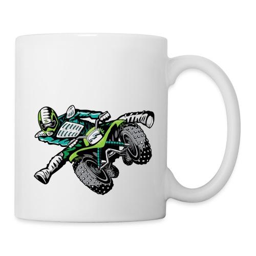 ATV Freestyle Quad Green - Coffee/Tea Mug
