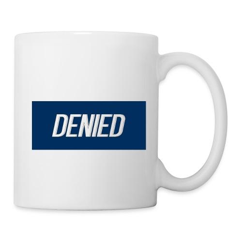 DENIED blauw - Coffee/Tea Mug
