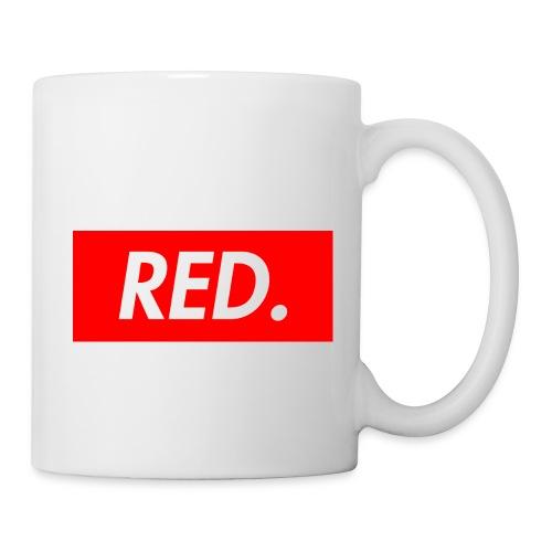 Red. - Coffee/Tea Mug