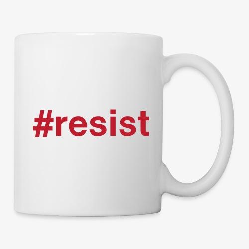 resist - Coffee/Tea Mug