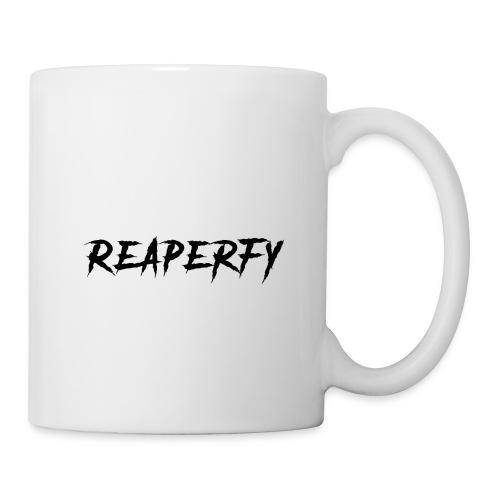 Reaperfy Transparent Logo Black - Coffee/Tea Mug