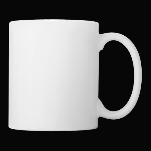 Visions white on black tees and hoodies - Coffee/Tea Mug