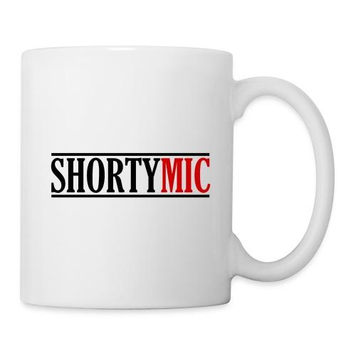 Shorty Mic - Logo - Black & Red - Coffee/Tea Mug